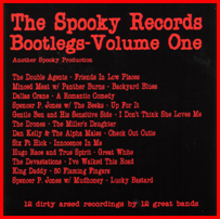 Spooky 007                 The Spooky Bootlegs - 'Volume One'